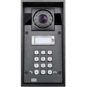 2N IP Force with 1 Button, HD Camera, Keypad and 10W Speaker