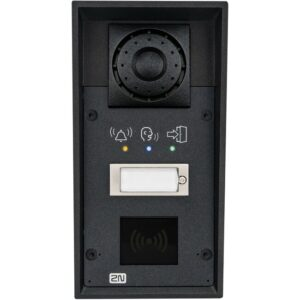 2N IP Force with 1 Button, Pictograms, RFID Reader Slot and 10W Speaker