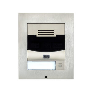 2N IP Solo with Camera Surface Mount - Brushed Nickel (inc frame) (Recommended with 9155068)
