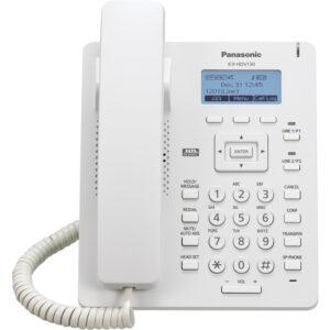 Panasonic KX-HDV130 IP Desk Phone (White)