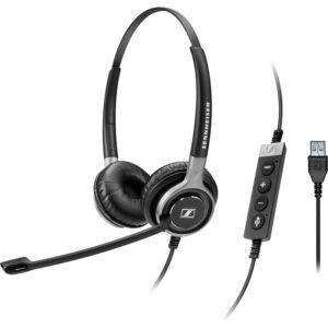 EPOS | Sennheiser Century SC 660 Binaural Wired Headset (USB Connectivity)